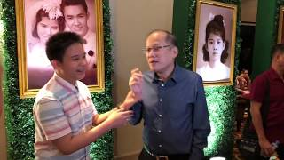 PNOY, JOSHUA, BIMBY & OTHER CELEB SIGHTINGS! #MotherLILYat80