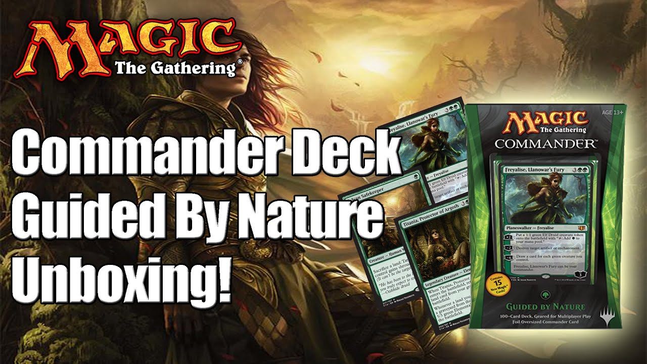 Commander decks review