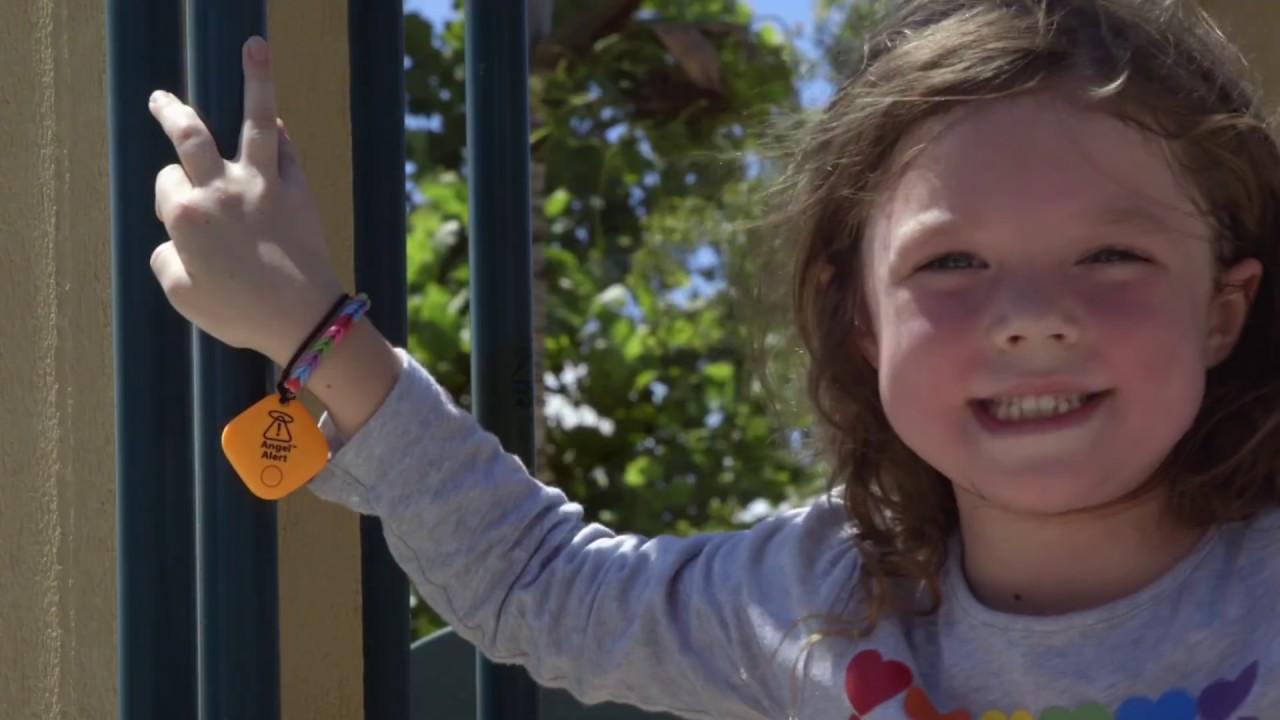 Angel Alert Child Anti Lost Alarm Key Phone Finder