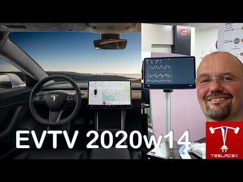 #158 Tesla Ventilátory a Q1 Výsledky 2020w14 | EVTV | Teslacek