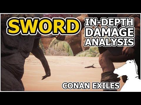 Sword In-Depth Damage Analysis | CONAN EXILES