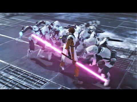EPIC Saber/Force Moments & Combat Gameplay - Star Wars : Jedi Fallen Order