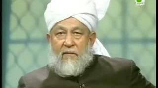 Liqa Ma'al Arab 4 January 1995 Question/Answer English/Arabic Islam Ahmadiyya