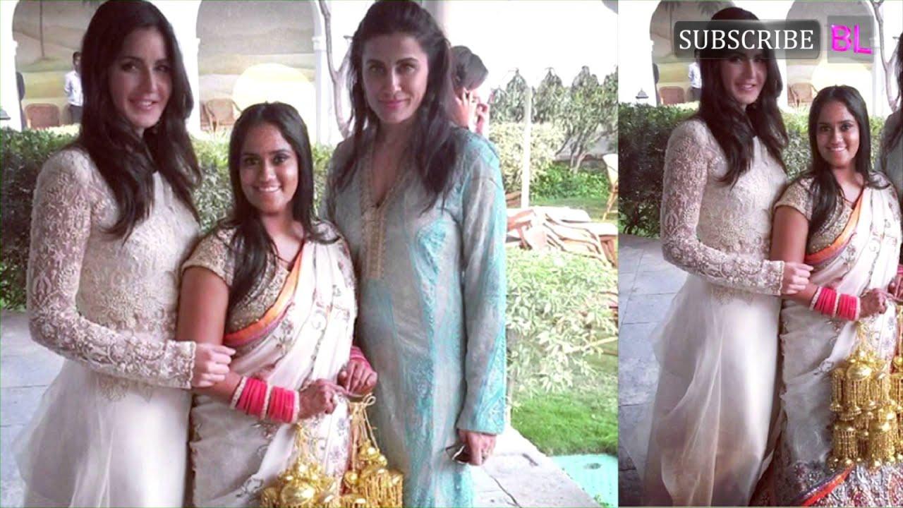 Katrina Kaif Looking Gorgeous At Salman Khan S Sister Arpita Wedding 02 You