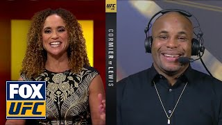 Daniel Cormier talks after defending his belt | INTERVIEW | UFC 230