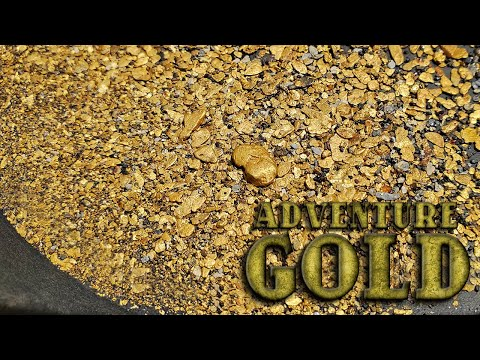 Adventure Gold - Panning, Detecting And Sluicing For Mother Lode Gold