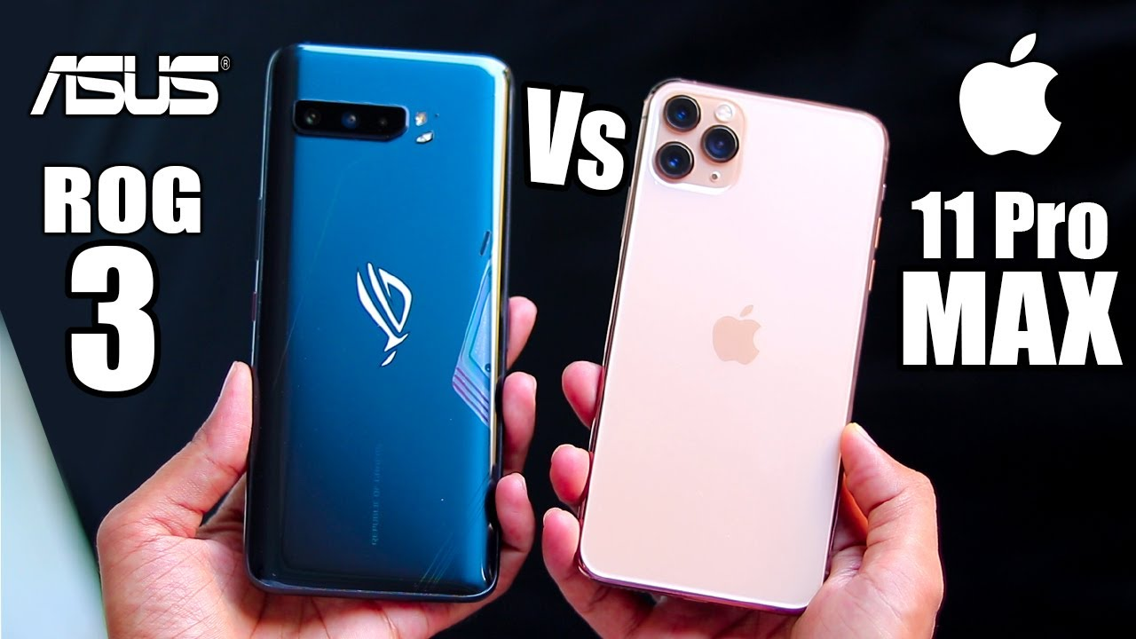 Asus Rog 3 Vs iPhone 11 pro max - Best Gaming Device !!