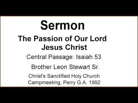 passion  lord jesus christ leon stewart 1992