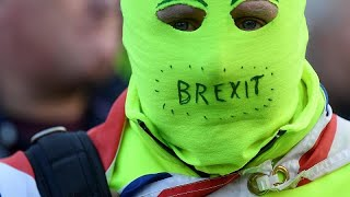 Proteste in London nach 3. Ablehnung des Brexit-Abkommens
