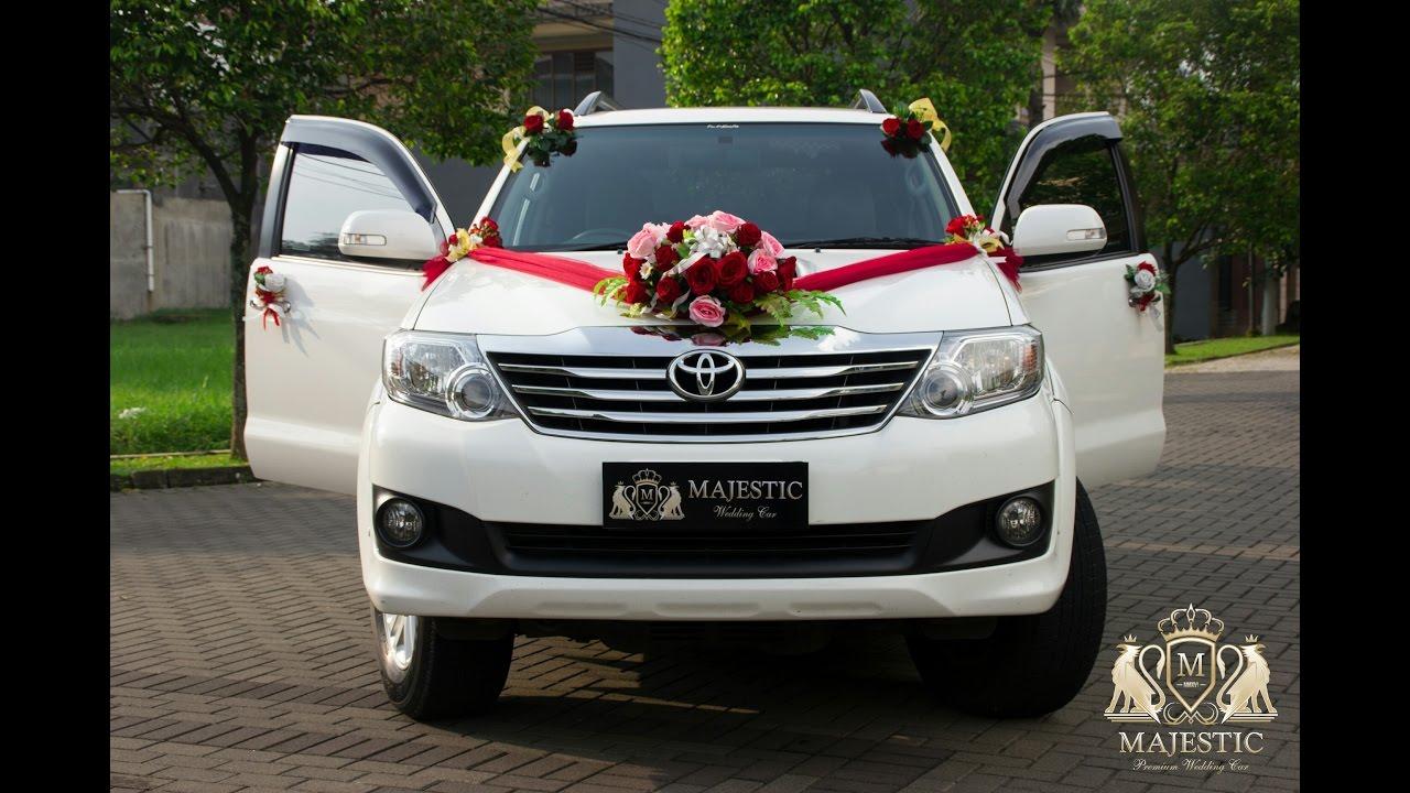 New Fortuner Vnt Majestic Wedding Car Bandung Rental