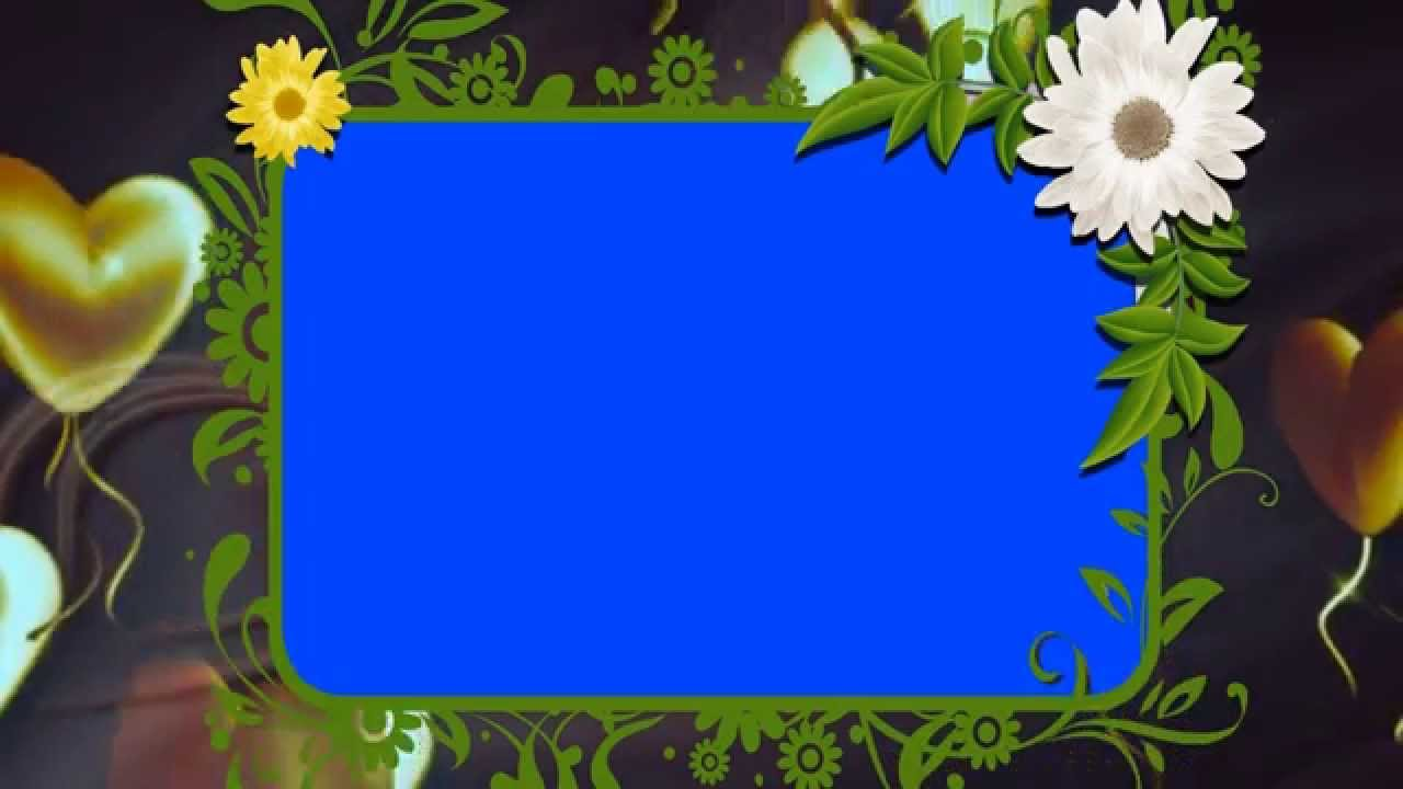 Free Background Animated Wedding Frame Video Loop Downloads - YouTube