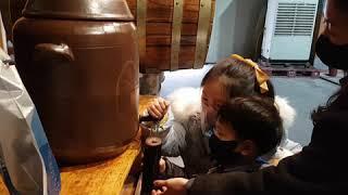 산머루 와인 만들기 1
