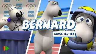 Бернард - 124-126 | Compilation  | Мультфильмы |