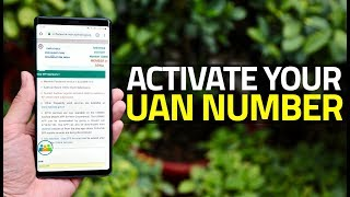 How to Activate Your UAN Number in 2019