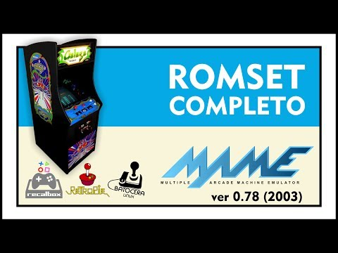 DOWNLOAD ROMSET COMPLETO - MAME 0 78 (2003) - YouTube