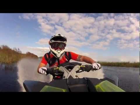 GATOR BITES - Route 1 Motorsports Loans a couple of NEW 2012 Sea-Doo RXP-X to X-TEAM Riders