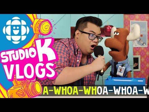 Studio K Vlogs: Unboxing Karaoke With Mr. Orlando And Tony   CBC Kids