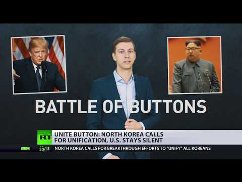 Unite Button: North Korea calls for unification, US stays si