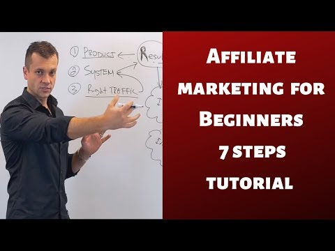 Affiliate marketing for beginners 7 steps tutorial 2019 to get faster results thumbnail