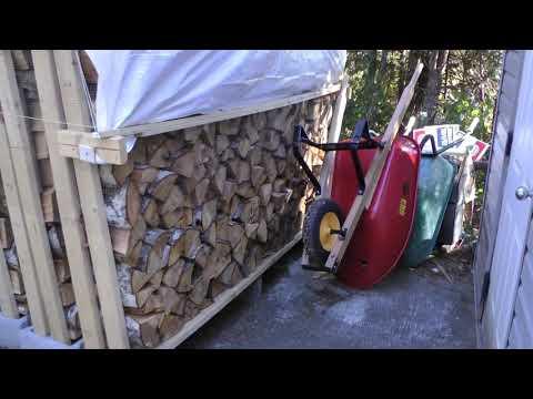 DIY Firewood Rack Cheap Cheaper Cheapest