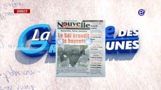 LA REVUE DES GRANDES UNES DU VENDREDI 15 AOUT 2019 - ÉQUINOXE TV