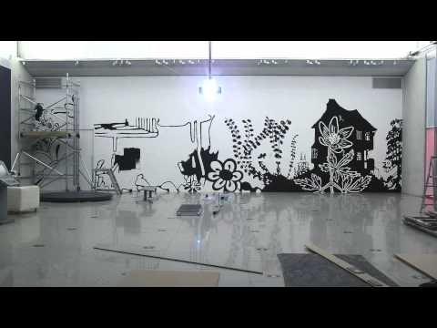 Timelapse: Stipe, by Paul Morrison, Millennium Gallery, Sheffield, 2012