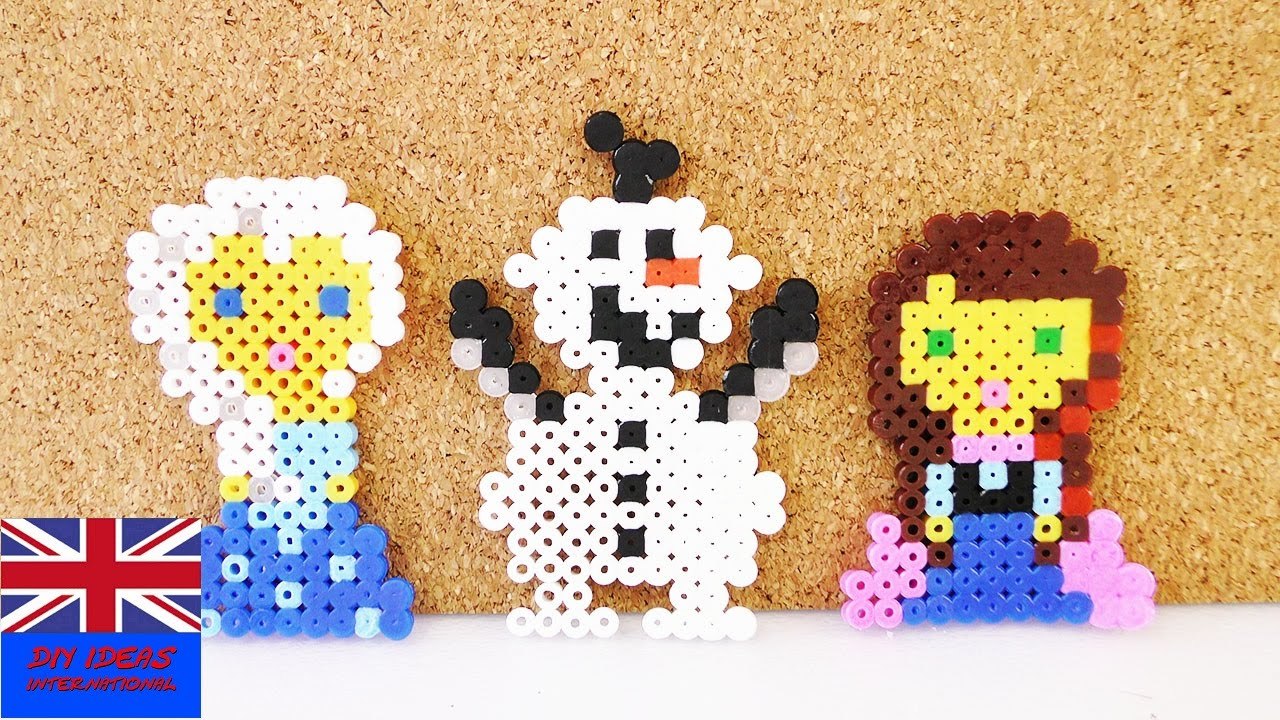 Beads Making Olaf Frozen Design Iron Beads Craft Beads Making