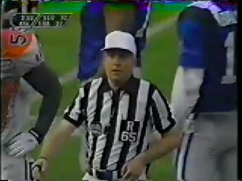 1996 World Bowl, Claymores vs Galaxy (4 of 5)