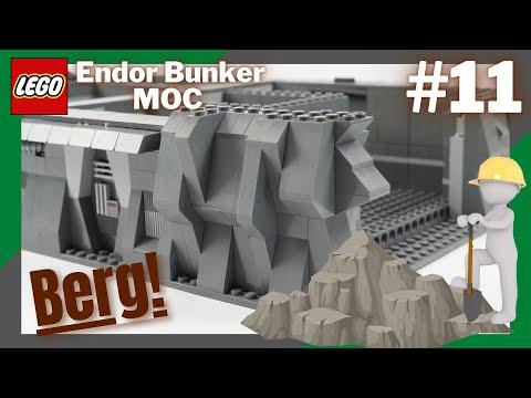 Der Berg wächst in die Höhe!⛰ | LEGO Endor Bunker Moc | Update-Folge #11
