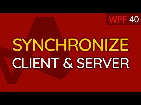 C# WPF UI Tutorials 40   Synchronize Server & Client Settings