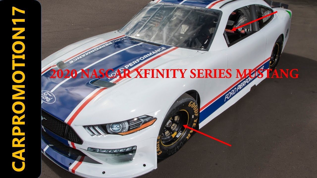 2020 Nascar Xfinity Mustang