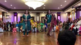 Balley balley mehndi dance 2018 pakistani wedding