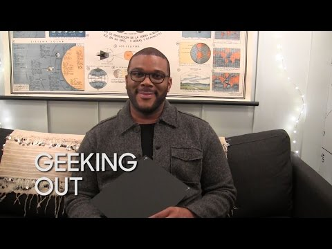 Geeking Out: Tyler Perry Talks Drones