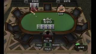 world series of poker ps2 gameplay