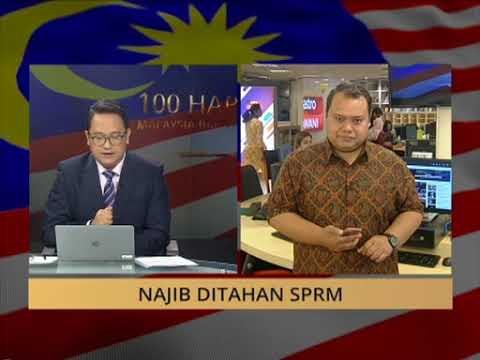 TERKINI! Najib Razak ditahan SPRM, akan didakwa esok