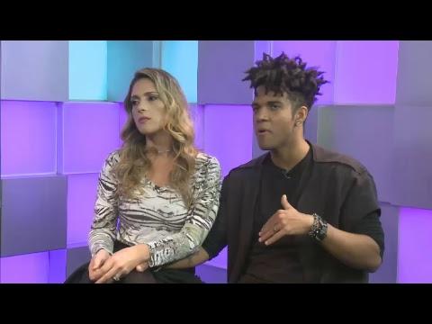 Participe da live com Nadja e Vinicius D'Black, o quinto casal a deixar o Power Couple Brasil 3