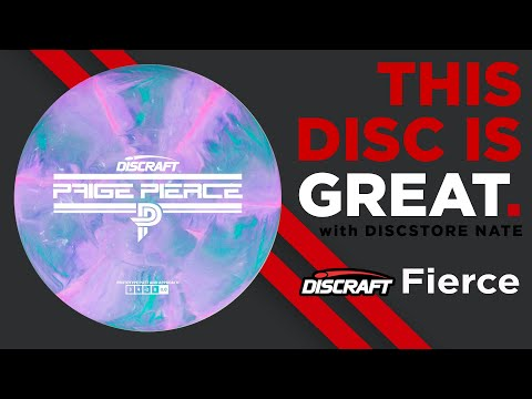 Paige Pierce Discraft Fierce Disc Golf Disc Review This Disc Is Great with DiscStore Nate