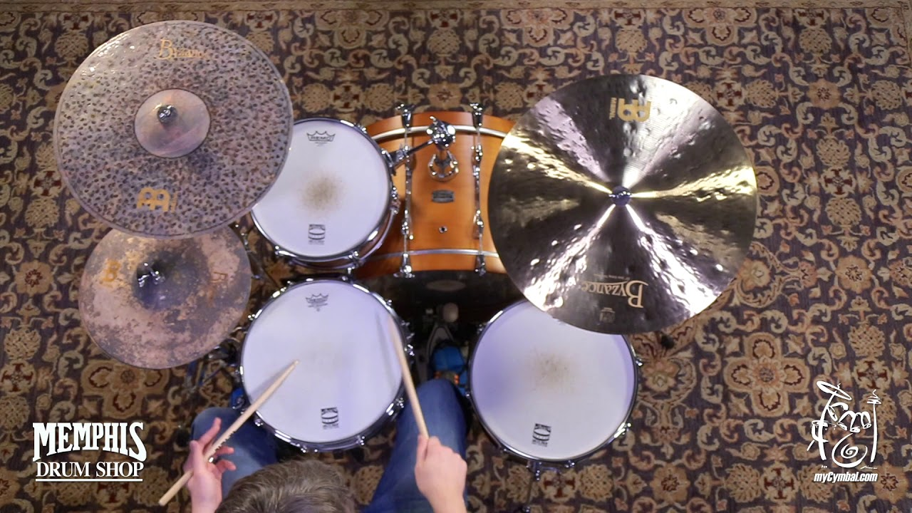 meinl 22 byzance jazz extra thin ride cymbal 1917g b22jetr 1022218gg youtube. Black Bedroom Furniture Sets. Home Design Ideas