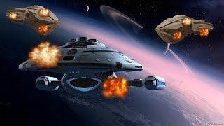 U.S.S Voyager (Intrepid Class) VS The Kazon - Star Trek: Bridge Commander - Kobayashi Maru Battles