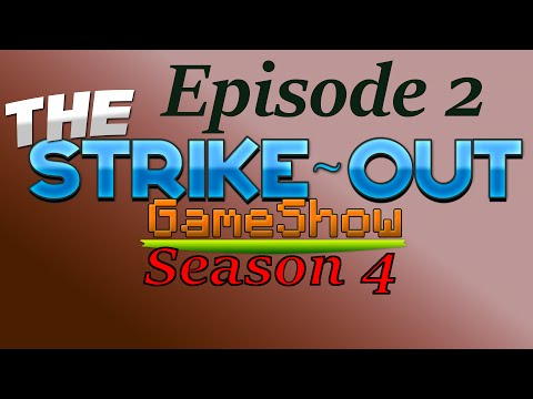 RACE TO THE PLACE! - The Strike-Out Game Show - Season 4 Episode 2 (Minecraft Gameshow)