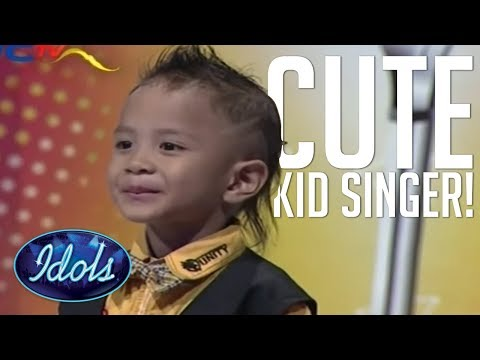 CUTEST KID SINGER AUDITION EVER! I'll be There By Jackson 5 On Indonesian Idol | Idols Global
