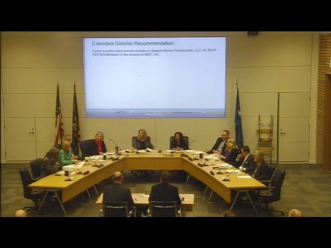 March 2018 Port Commission Meeting