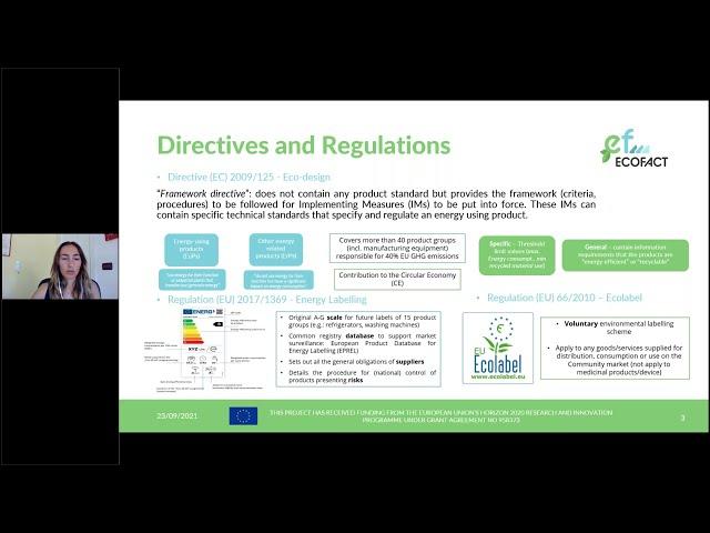 ECOFACT  - Regulatory Framework Analysis