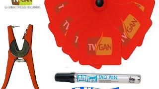 Combo Orejeras sin Marcar Allflex - TvAgro por Juan Gonzalo Angel
