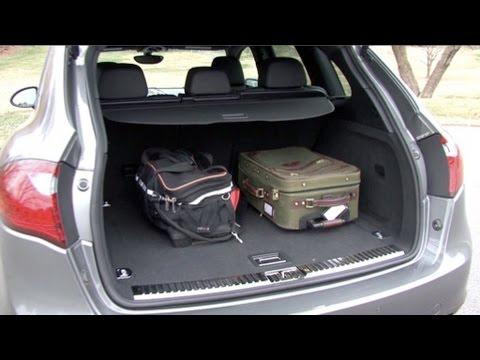 2011 Porsche Cayenne - Cargo Capabilities