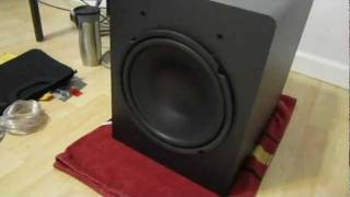 Velodyne VX-11 Subwoofer Excursion Bass test VX11 VX 11