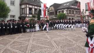 Parade der Junggesellen Fronleichnam 2013
