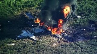 What caused the Marine plane crash Monday that killed 16?