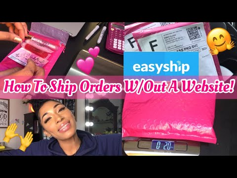 How To Ship Orders Without Having A Website|HOW I PACKAGE & SHIP ORDERS PT. 2|LIPGLOSS BUSINESS PT.9