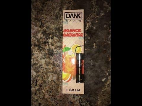 Dank Vapes Orange-Daiquiri Review